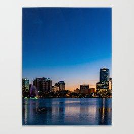 Orlando Downtown Poster