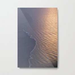 The Edge of Iceland Metal Print