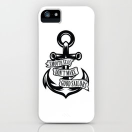 Smooth Seas iPhone Case