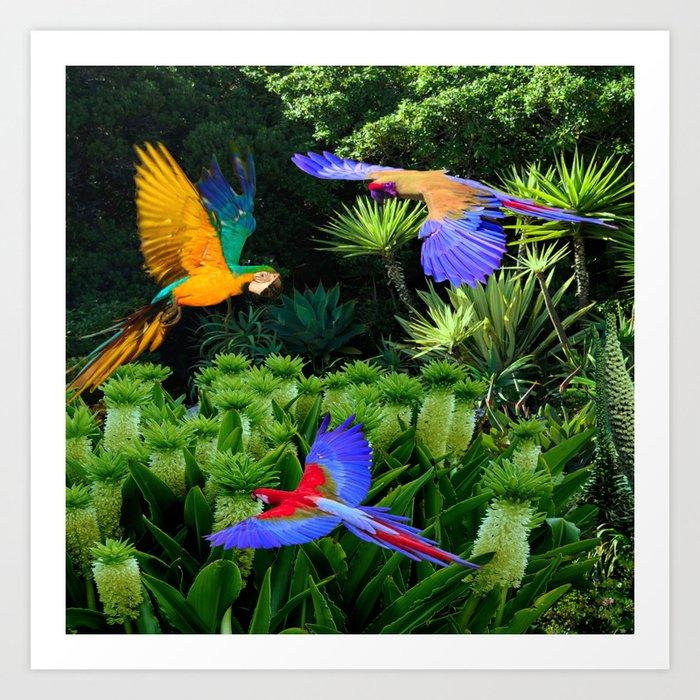Jungle Paradise Art Print