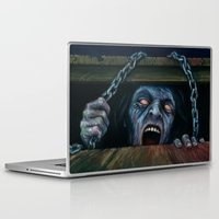 evil dead Laptop & iPad Skins featuring THE EVIL DEAD by chris zombieking