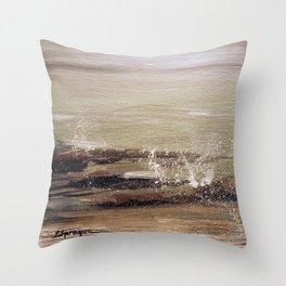 Coastal Spritz Throw Pillow