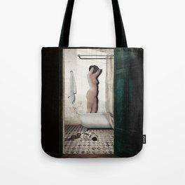 Bathtub Tote Bag