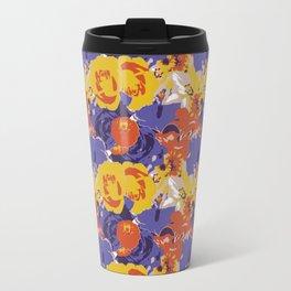 Retro Floral Travel Mug