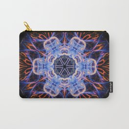 Moon Jelly Mandala Carry-All Pouch