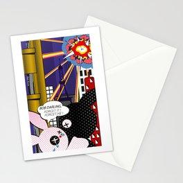 """""""Forget it!"""" (from Lichtenstein) Stationery Cards"""