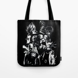 Anime heroes 1 Tote Bag