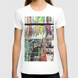 Colorful Bohemian Abstract 3 T-shirt