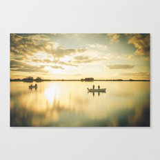 Ghosts on a Boat Canvas Print