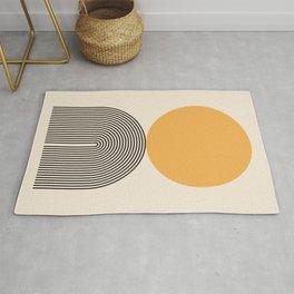 Abstraction_NEW_SUNLIGHT_YELLOW_POP_ART_Minimalism_001Y Rug