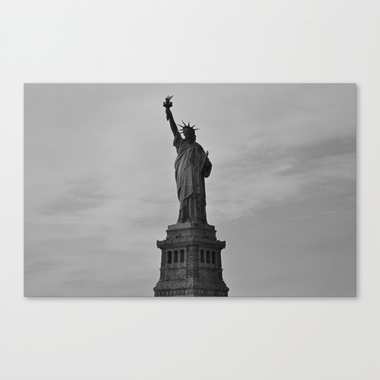 Liberty Enlightening the World  Canvas Print