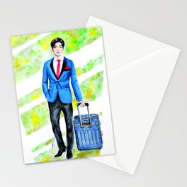 Business Man Stationery Cards