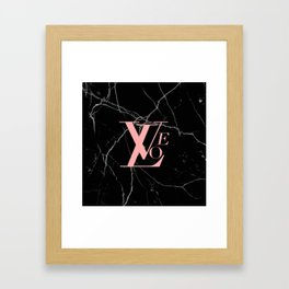 love designer Framed Art Print