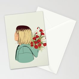 Flower Boy 02 Stationery Cards