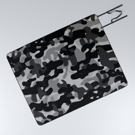 Camouflage (Gray) Picnic Blanket