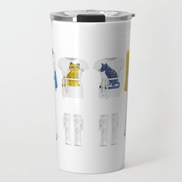 Pop Group Minimal Sticker Travel Mug