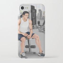 cross training iPhone Case