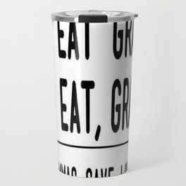 Let's Eat Grandma - Commas Save Lives Travel Mug