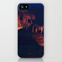 Grand Canyon Inner Light iPhone Case