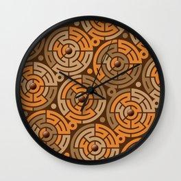 Cheetah Circle Wall Clock