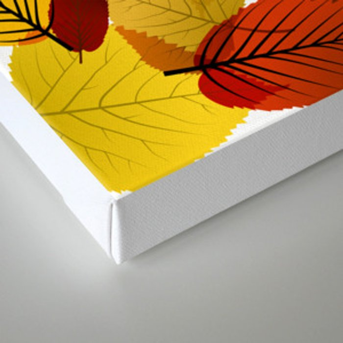 AUTUMN IS BACK Canvas Print