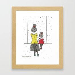 Balancê Framed Art Print