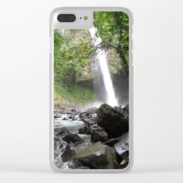 Hard Water Clear iPhone Case