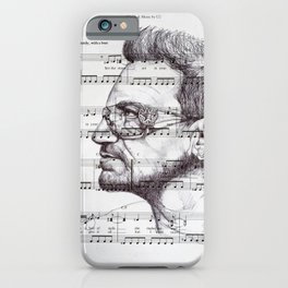 With Or Without You iPhone Case
