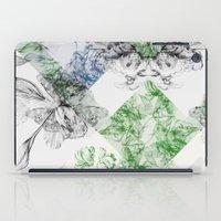 serenity iPad Cases featuring Serenity by La Scarlatte