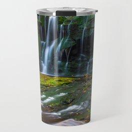Blackwater Falls Waterfall Travel Mug