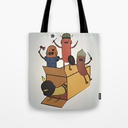 AT - Hog Dog Knights Tote Bag