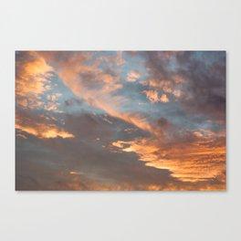 Sky 11/12/2010 17:15 Canvas Print