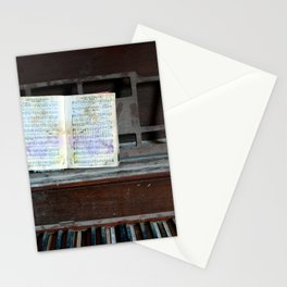 Abandoned Piano Stationery Cards