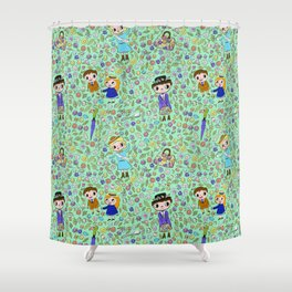 spoonful of sugar Shower Curtain