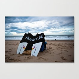 Hurley in Hossegor, France, World Tour of Surf Canvas Print