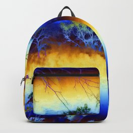 ABSTRACT - My blue heaven Backpack