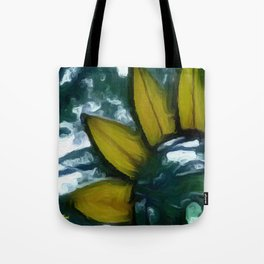 Sunshine on a Cloudy Day Tote Bag