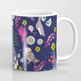 Purple Garden Coffee Mug