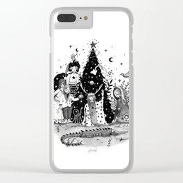 Oh Christmas Tree...!! Clear iPhone Case