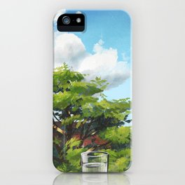 Mid-morning iPhone Case