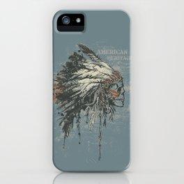 American Heritage (Dark) iPhone Case