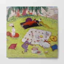 "Florine Stettheimer ""Picnic at Bedford Hills"" Metal Print"