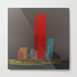 cube city Metal Print