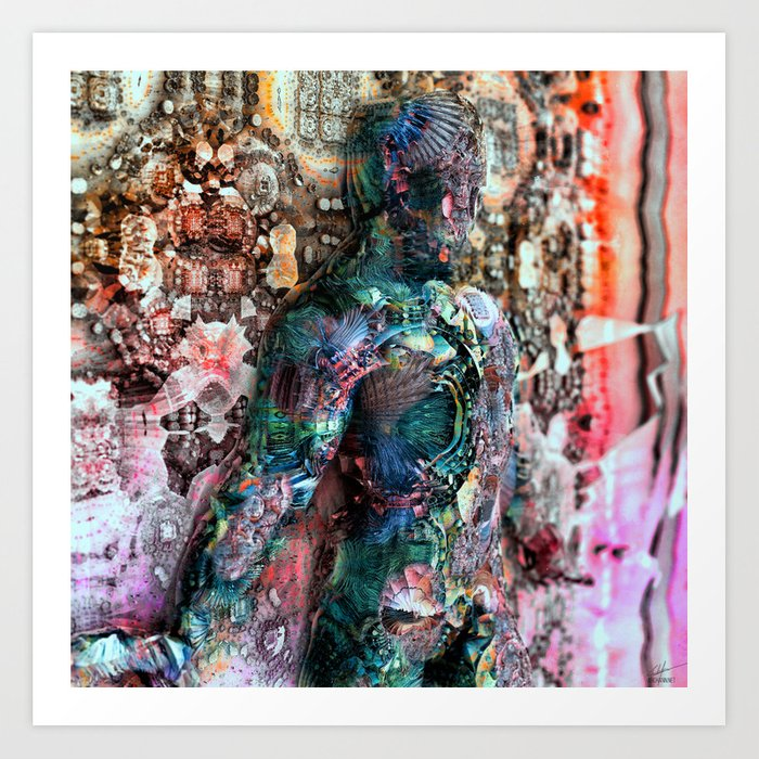 Interreflection Art Print