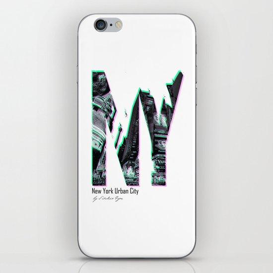 New York Urban City iPhone & iPod Skin