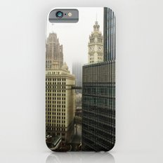 Chicago Buildings in Fog Color Photo Slim Case iPhone 6s