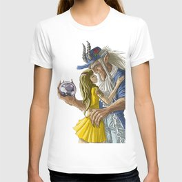 laberinto hip hop belle and the beast mash up T-shirt