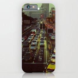 Shanghai traffic iPhone Case