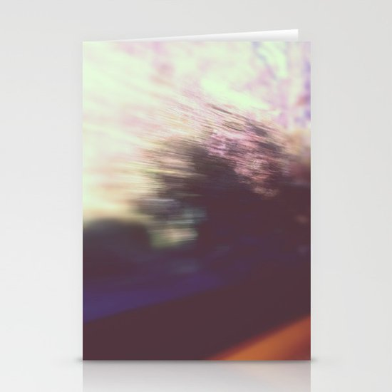 blurred vision Stationery Cards