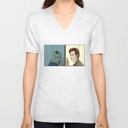 Am I ever going to see you again? Unisex V-Neck